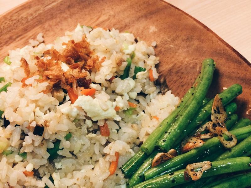 粒粒分明秘笈🍚豆腐乳炒飯
