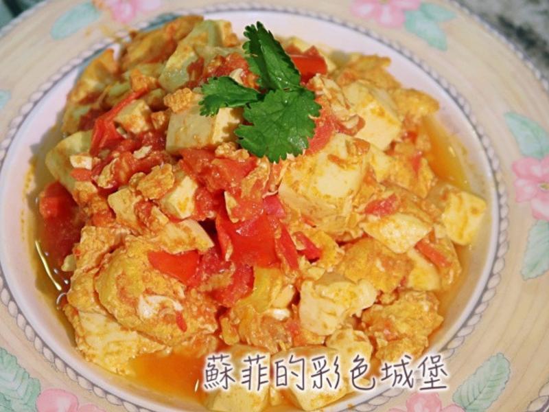 番茄炒芙蓉蛋