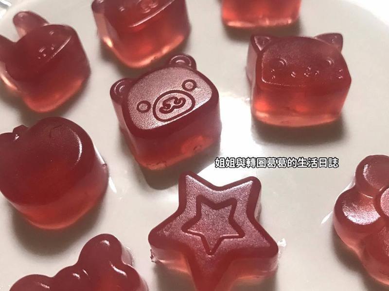 『寶寶食譜』自製葡萄軟糖(無糖)