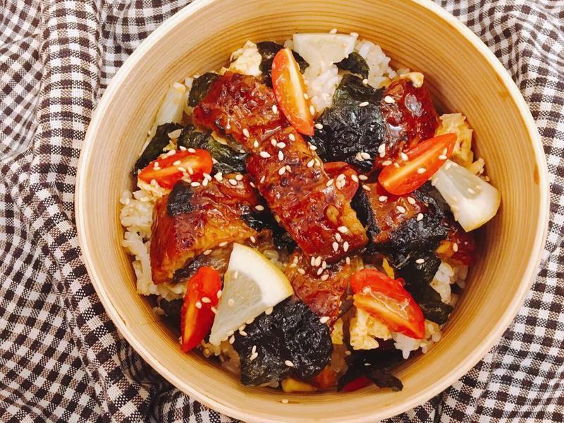 3步驟10分鐘搞定-夢幻鰻魚丼
