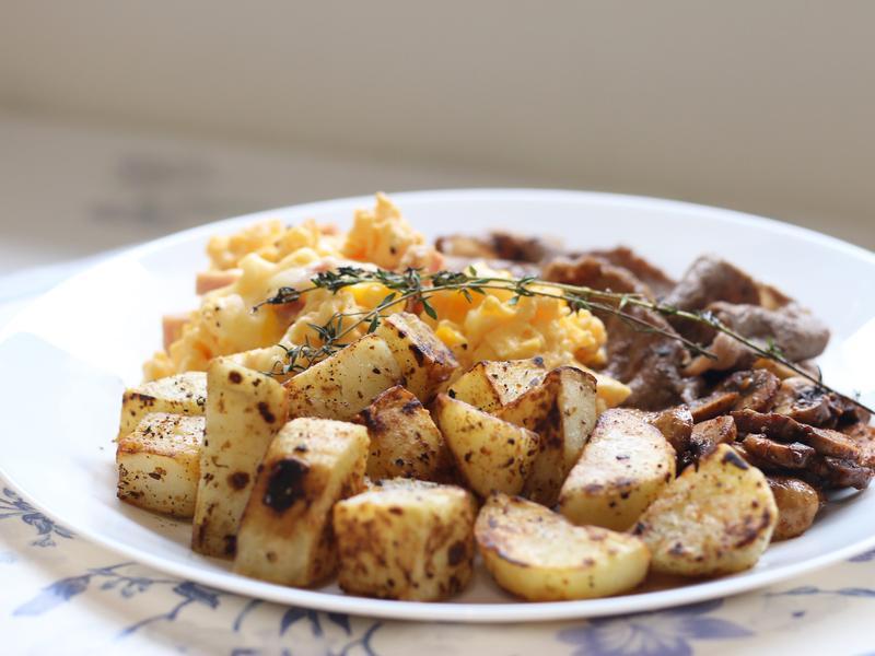 美式早餐必備!超簡單香煎薯塊