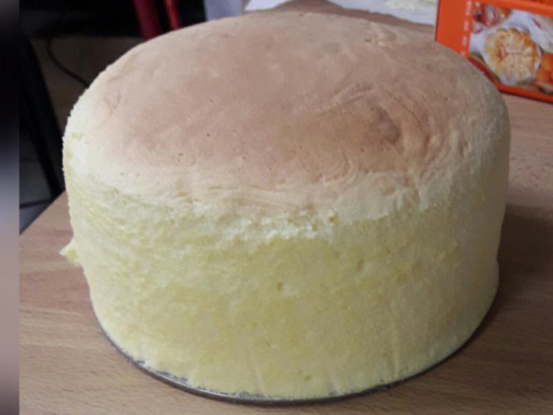 """輕乳酪蛋糕6"""""""