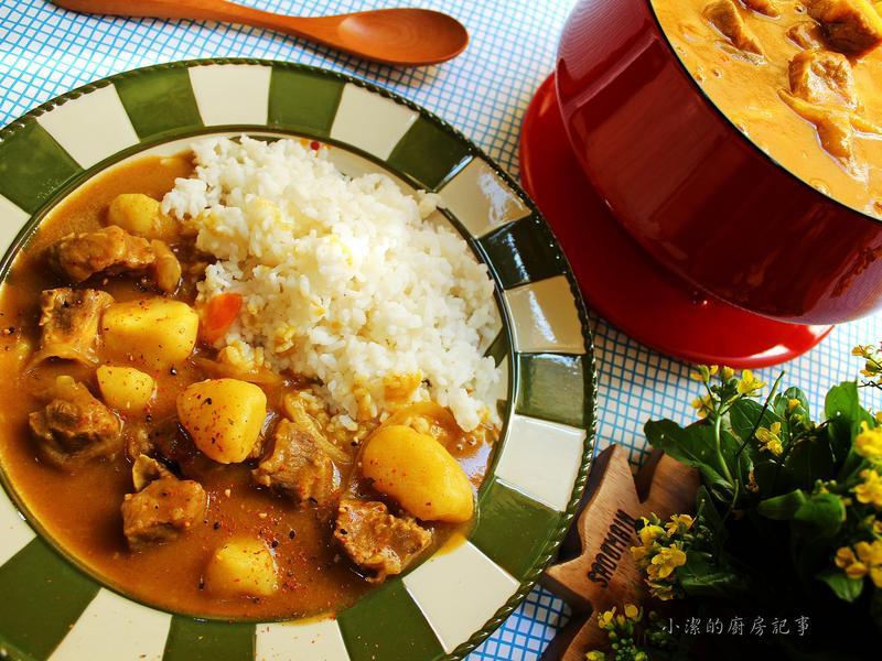 【電鍋料理】牛肉咖哩