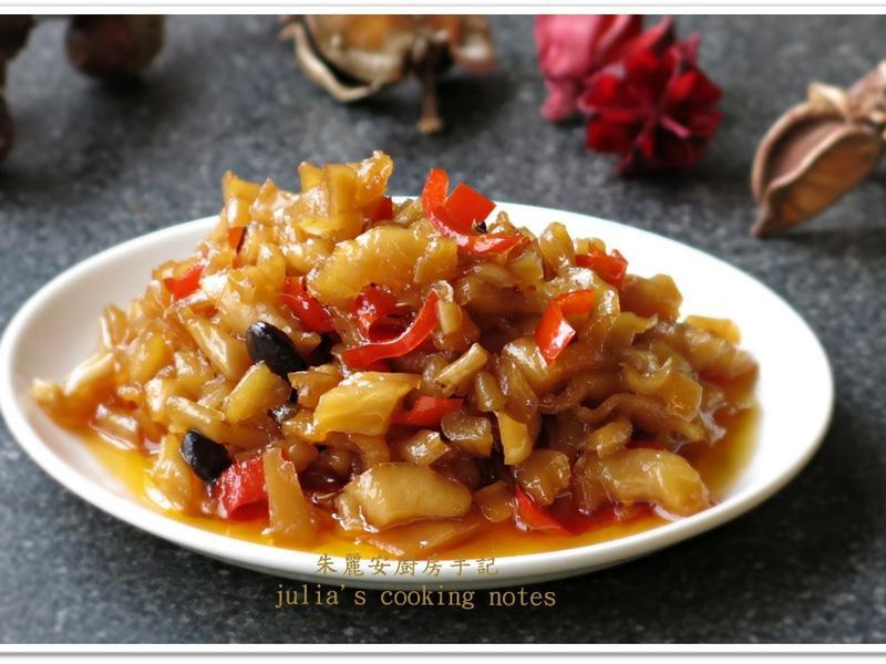 [豆豉辣蘿蔔乾]鹹香辛辣開胃小菜