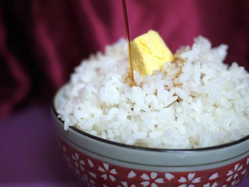 ♫【深夜食堂】奶油拌飯「バターライス」