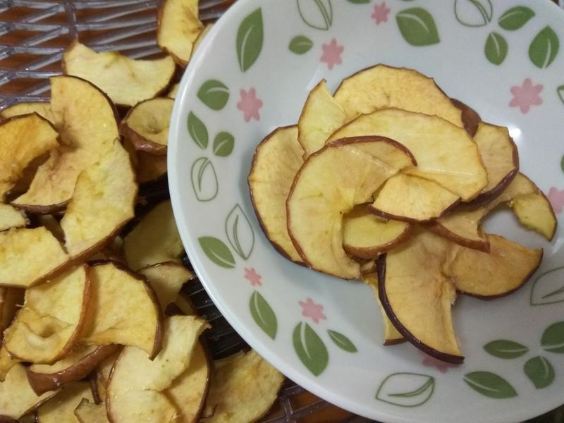 果乾小零嘴─香甜蘋果片