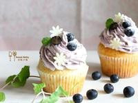 藍莓優格杯子蛋糕