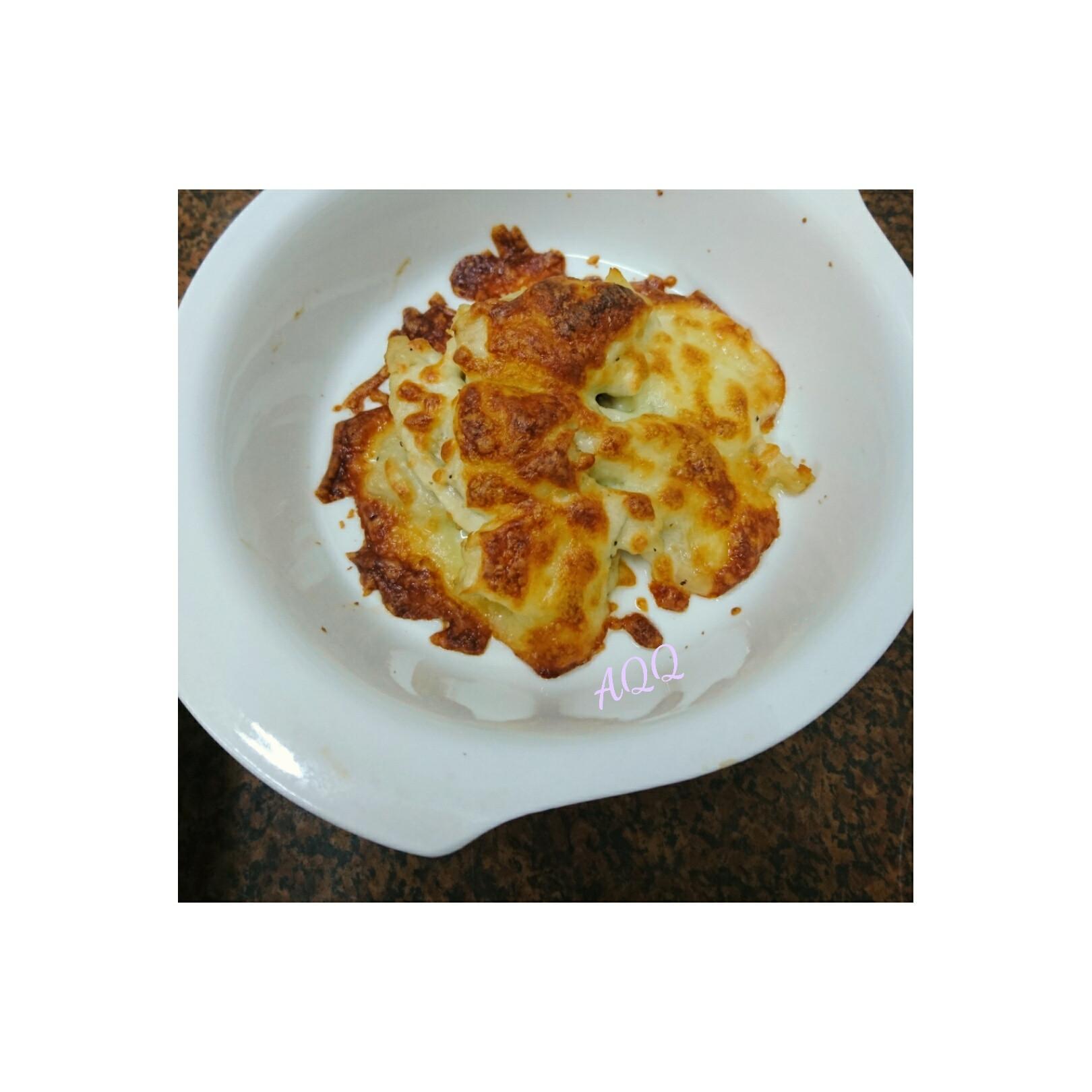 焗烤乳酪蒜味雞肉
