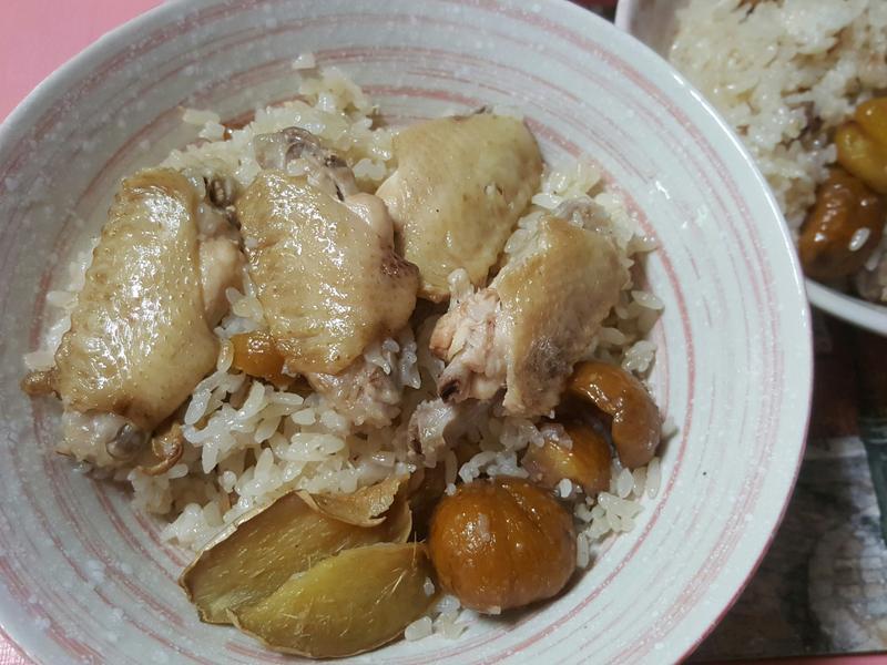 麻油栗子雞飯