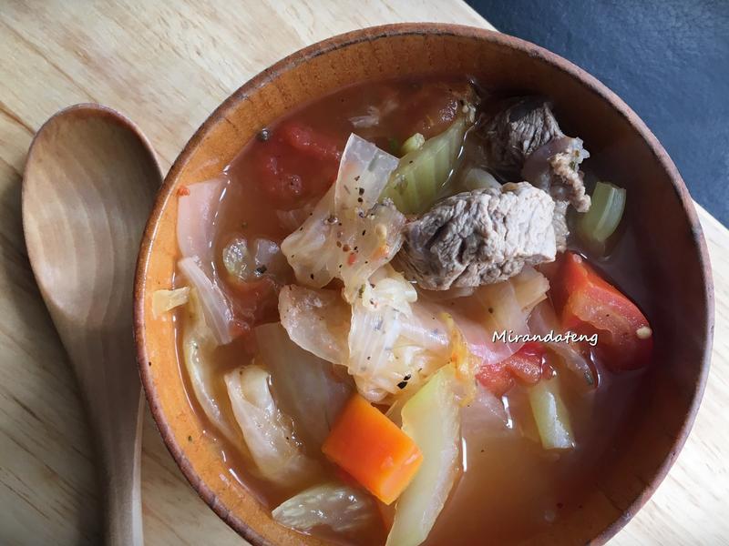 香蔬羅宋(牛肉)湯(媽媽手作幸福料理)