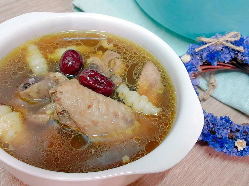草石蠶十全進補雞湯