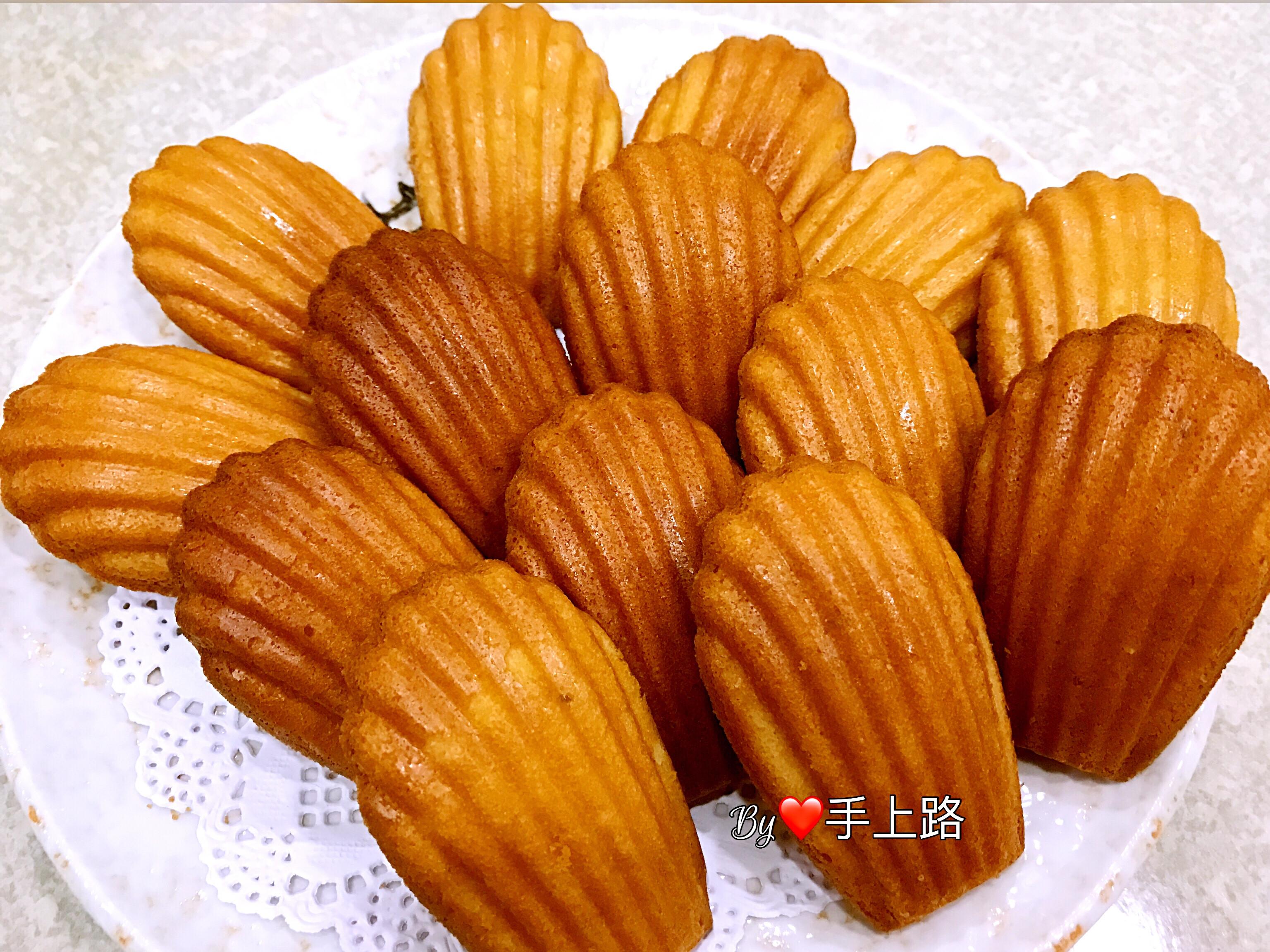 低熱量椰子油版《檸檬瑪德蓮蛋糕》