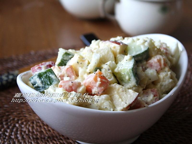 深夜食堂~水果馬鈴薯沙拉