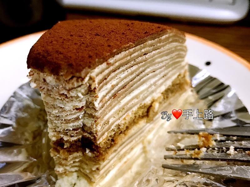 提拉米蘇千層蛋糕(8吋、內餡無蛋黃)