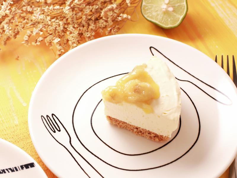 香蕉蘭姆乳酪蛋糕 - 免烤箱