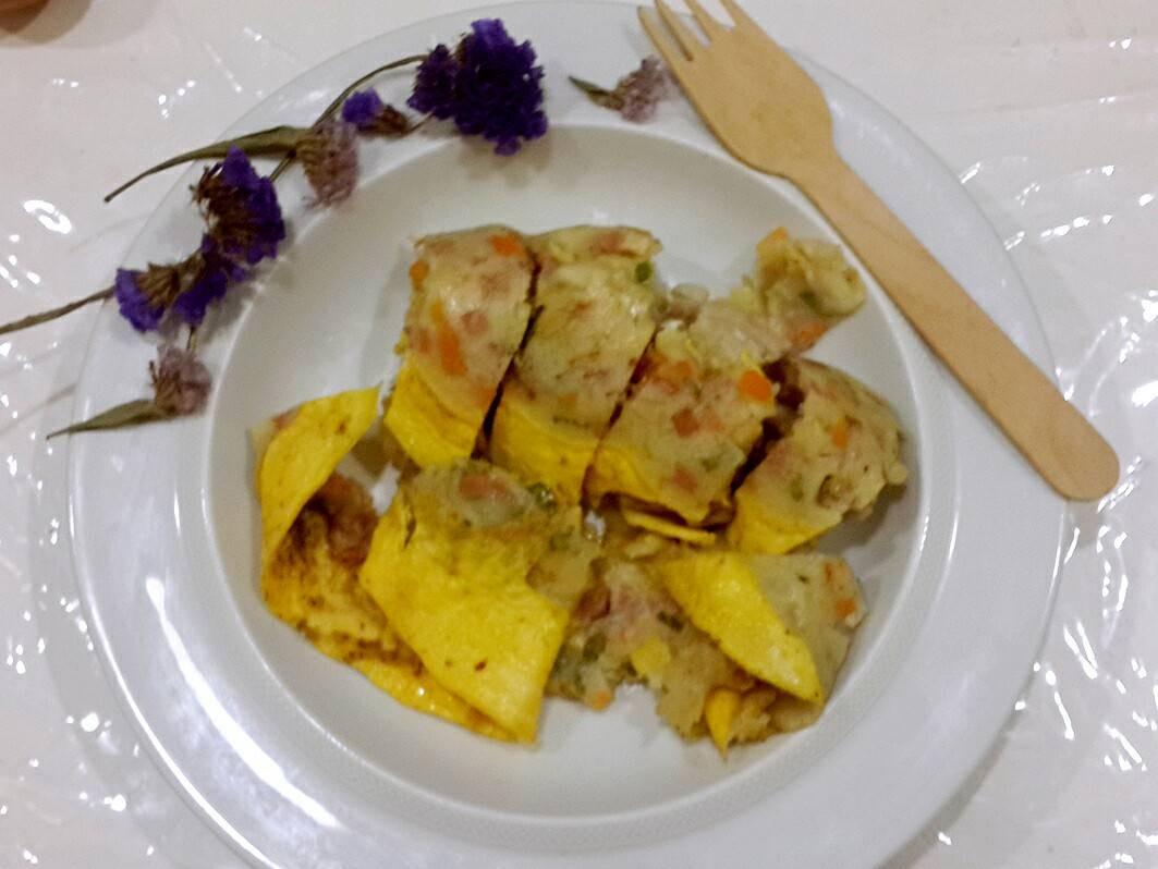 什錦厚蛋餅