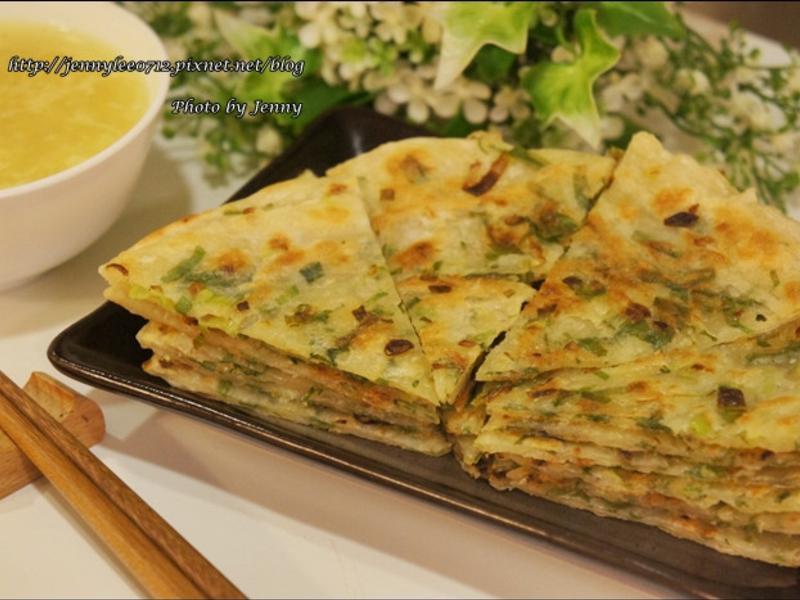 蔥油餅(水餃皮快速版)