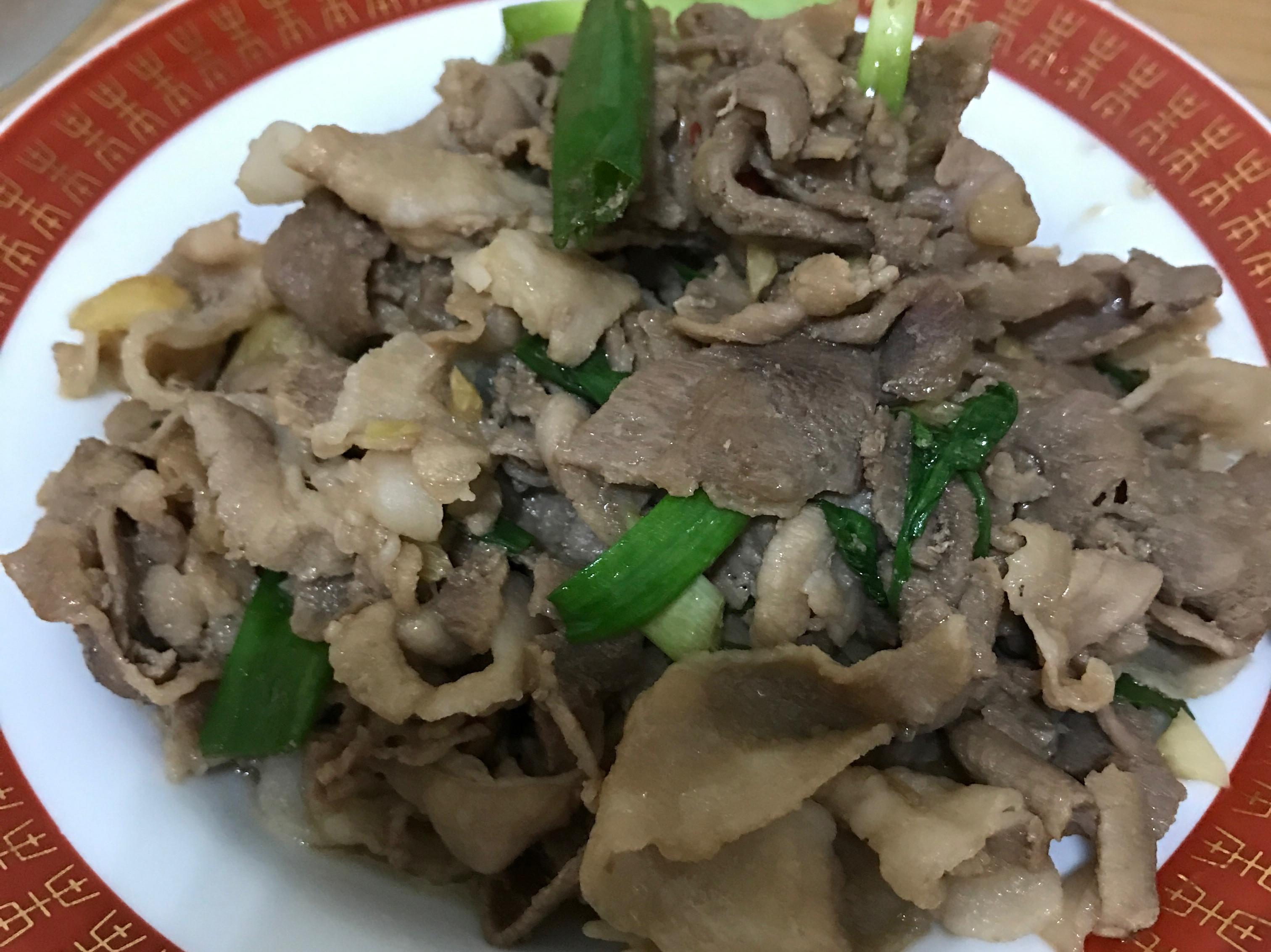 醬燒豬肉片
