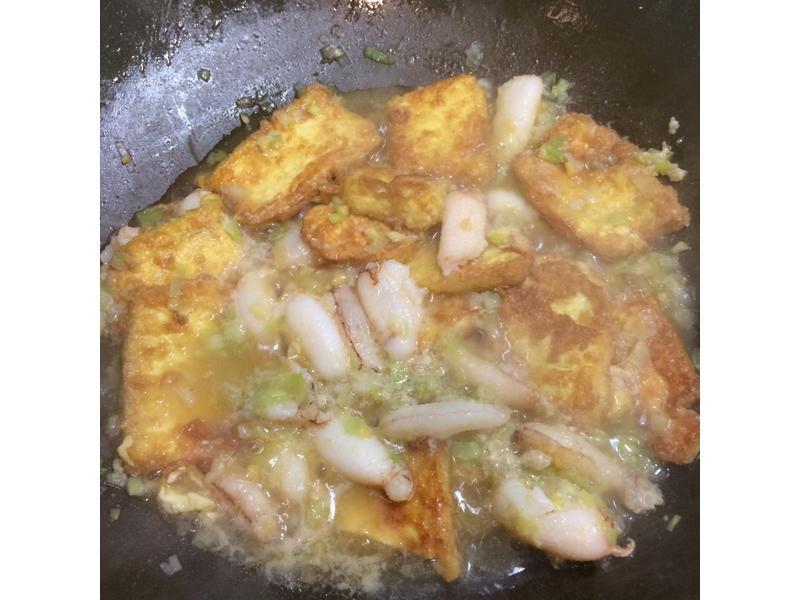 蟹腳拌雞蛋豆腐