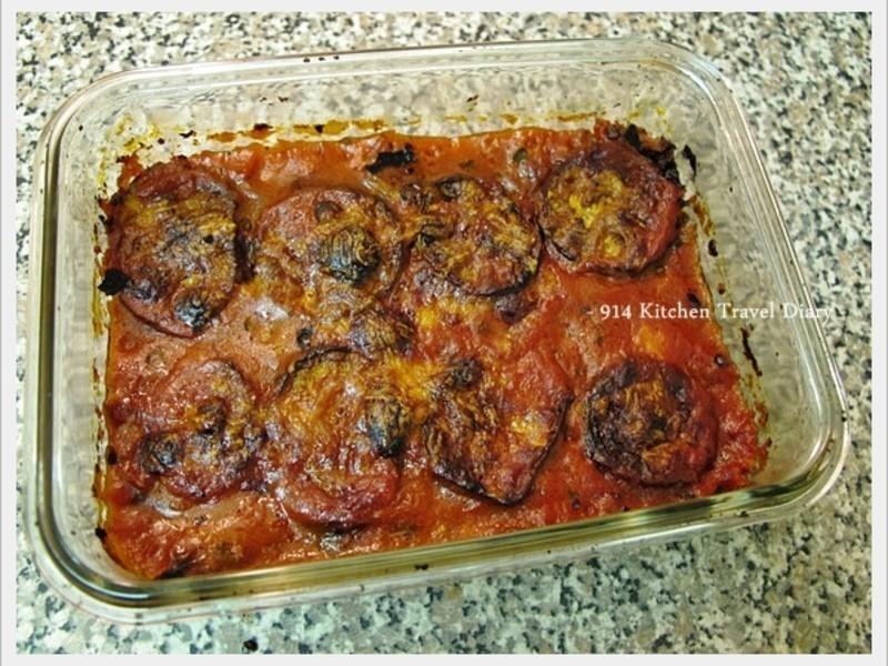 【深夜食堂】番茄肉醬焗茄子菇