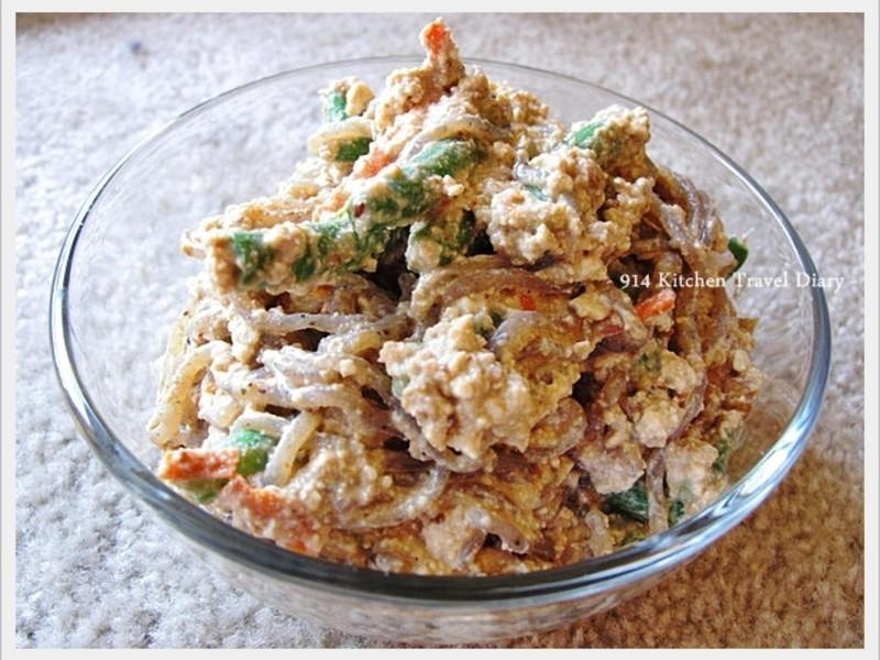 【深夜食堂】什錦蔬豆腐泥沙拉