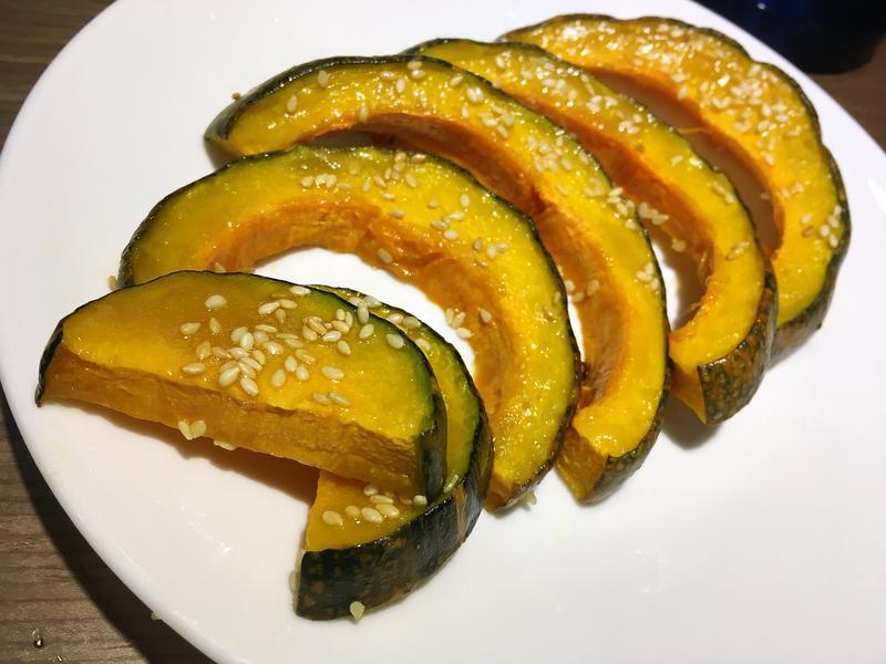 烤蜂蜜芝麻南瓜