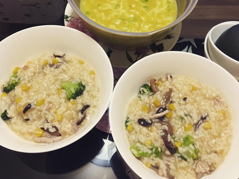 日式菇菇燉飯