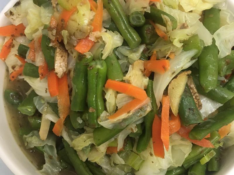 五種蔬食綜合盤