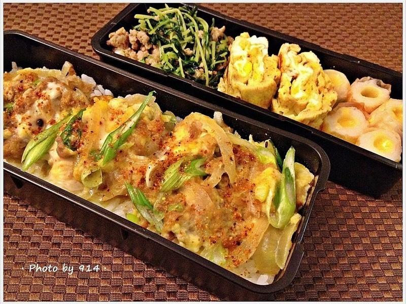 【深夜食堂】鮪魚滑蛋蓋飯+起司竹輪