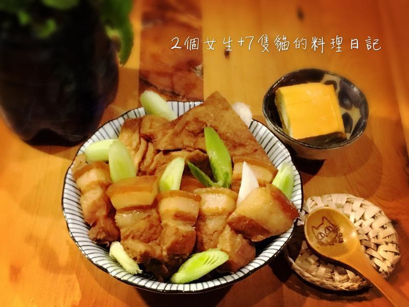 日式家常紅燒肉【不加一滴水】