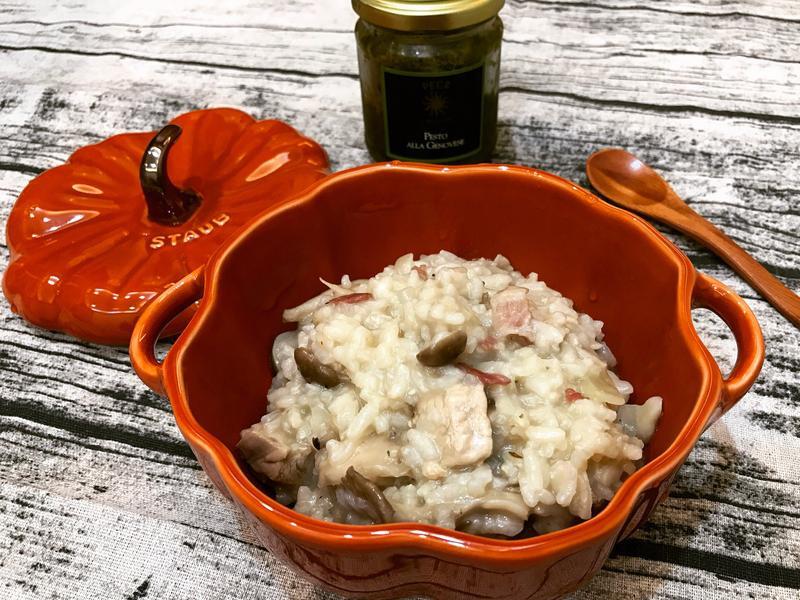 野菇雞肉燉飯
