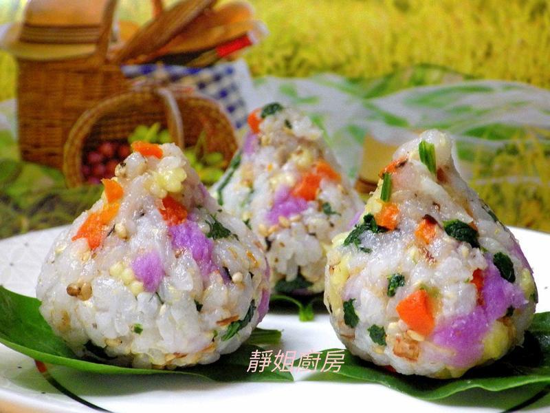 蔬食小飯糰
