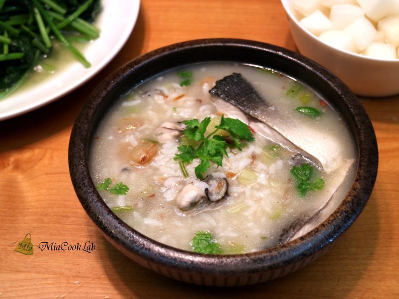 虱目魚鹹粥