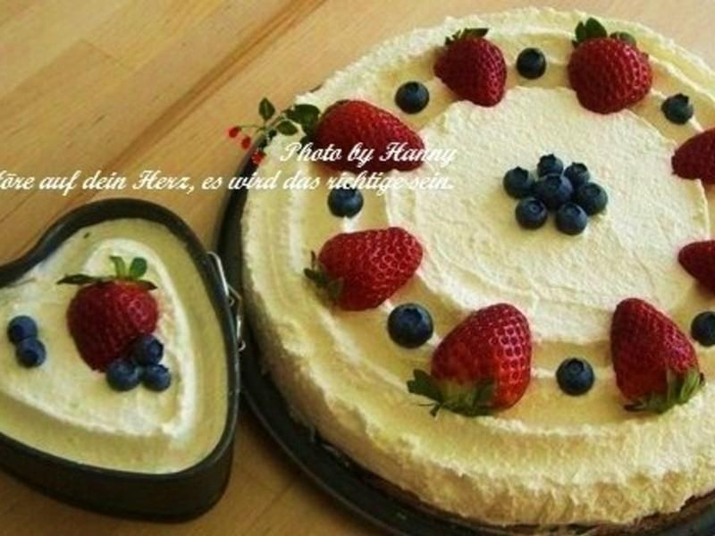 ♥開動 with Kat♥水果鮮奶油蛋糕[不需烤箱]