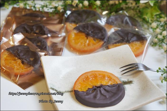 法式橙片巧克力