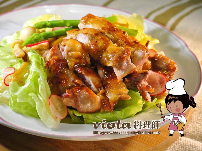 雞排溫沙拉