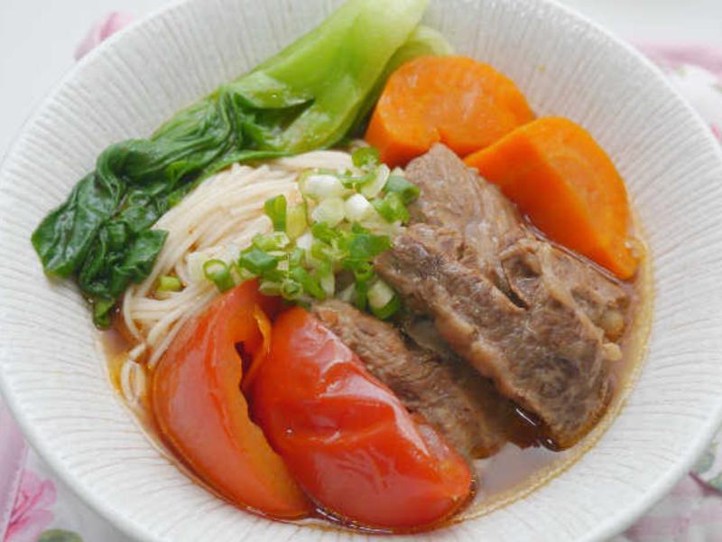 蕃茄牛肉湯(電鍋版)