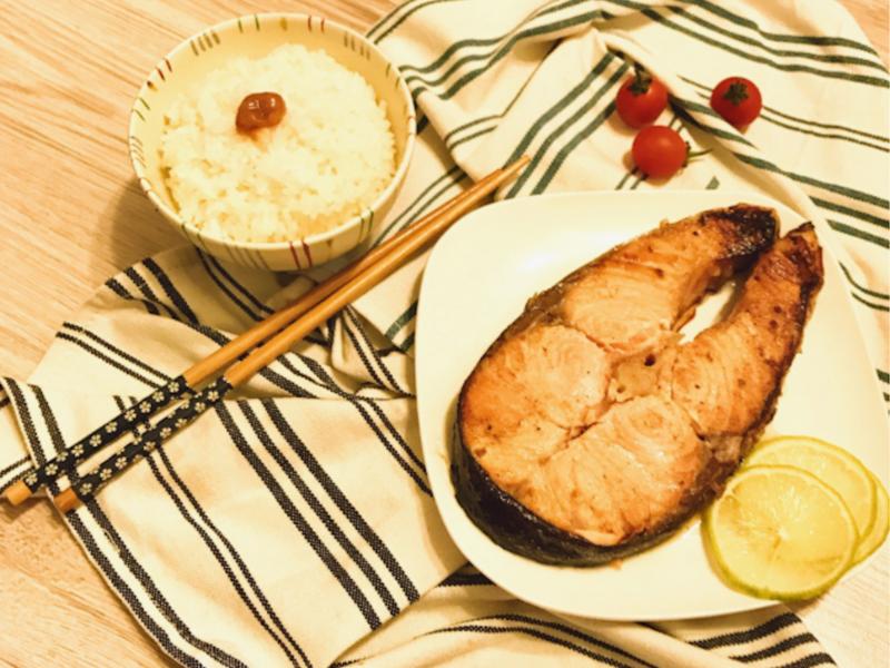 ★鹽麴香烤鮭魚~鮭の塩麹焼き