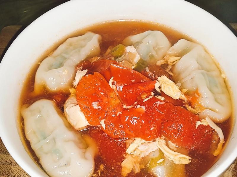🍅🥟🐮蕃茄牛肉湯餃🐮