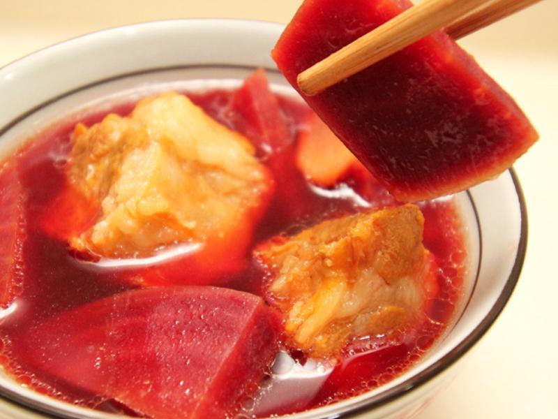【厚生廚房】甜菜根排骨湯