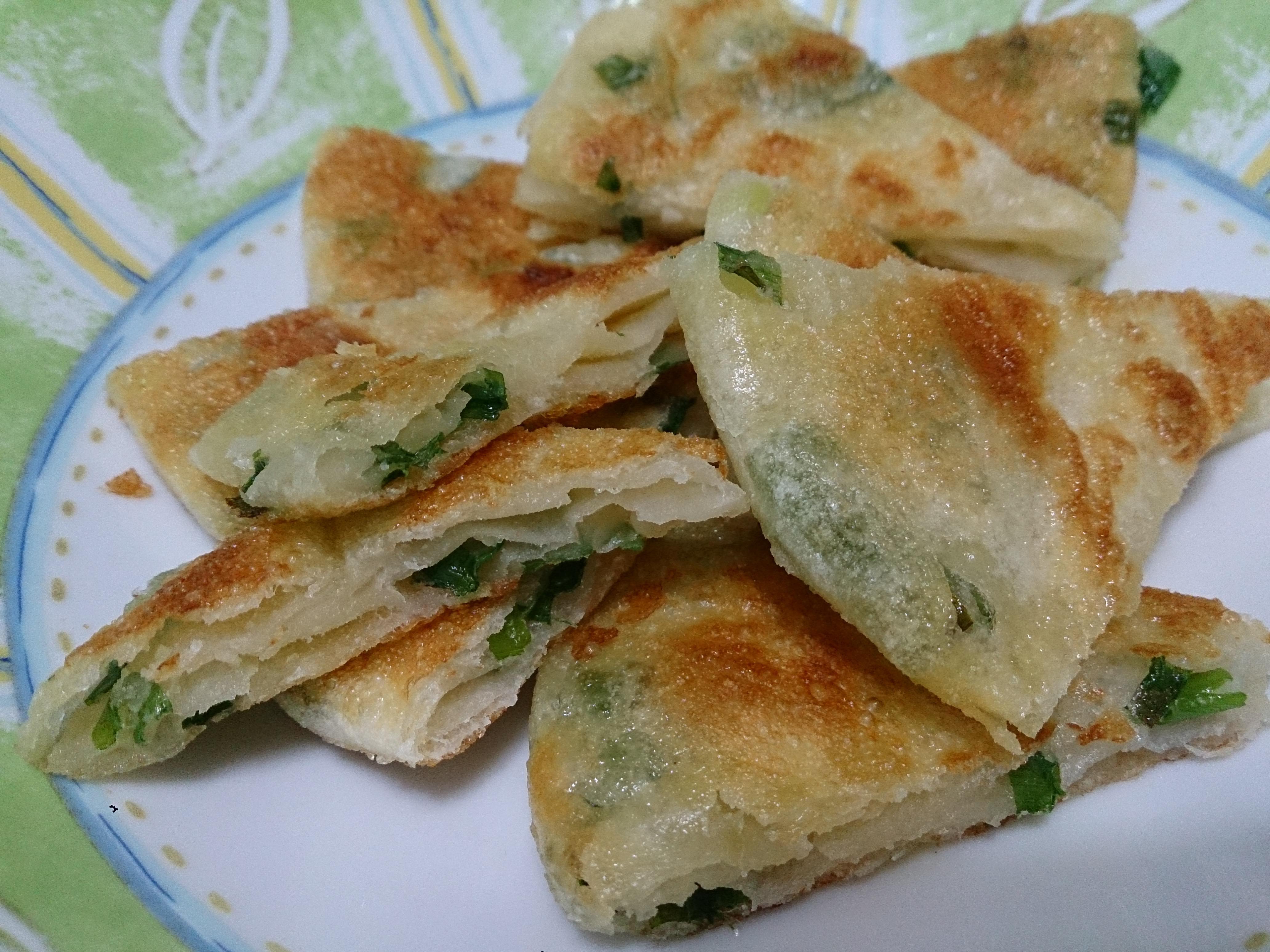lanni  香酥蔥油餅