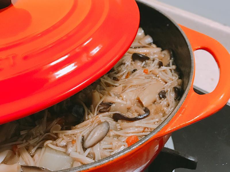 鑄鐵鍋🥘日式菇菇醬