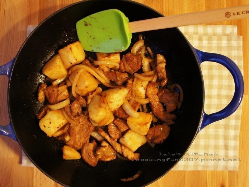 馬鈴薯炒肉