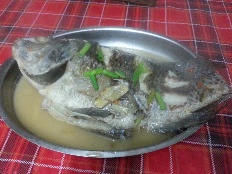 無醬油版的紅燒吳郭魚