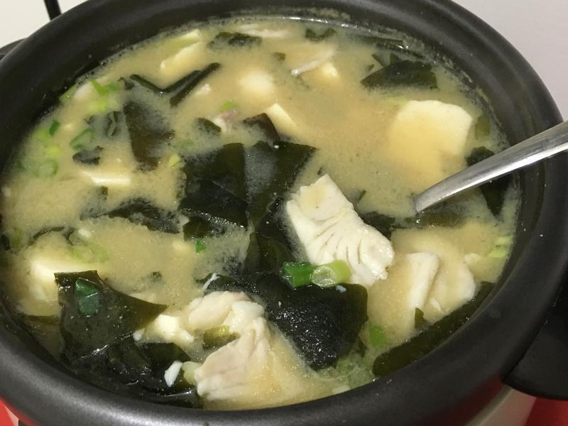 鯛魚味噌湯
