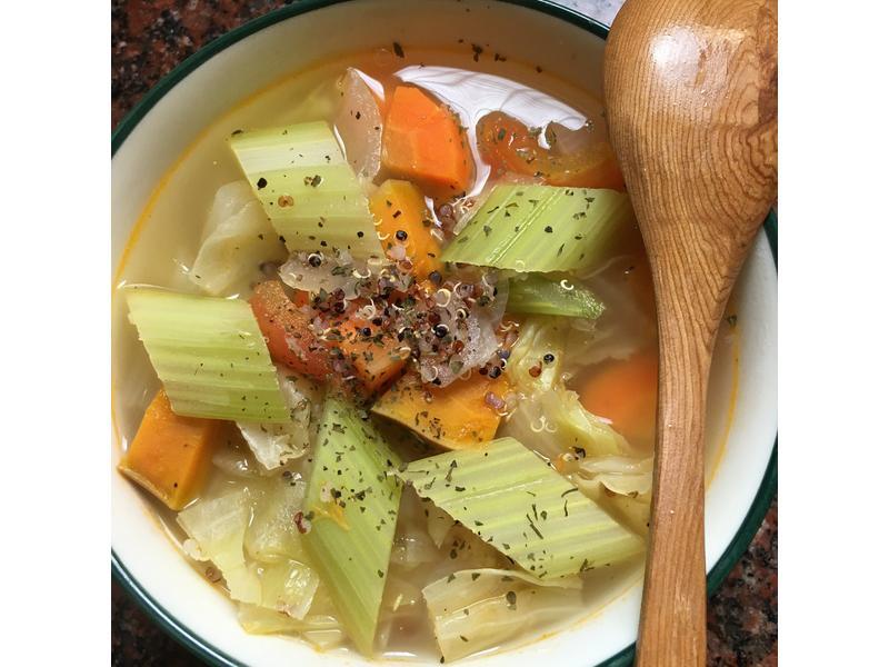 低卡藜麥蔬果多多湯