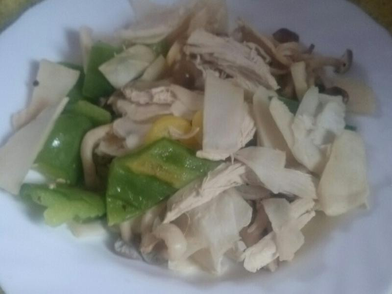 蔬菜炒脆筍