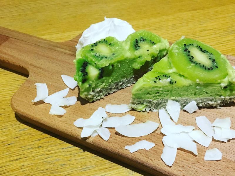 奇異果乳酪蛋糕(無麩低卡版)