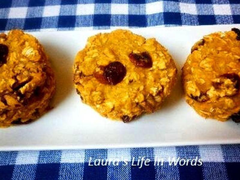 原味地瓜燕麥餅乾(無油糖、無蛋、無麵粉)