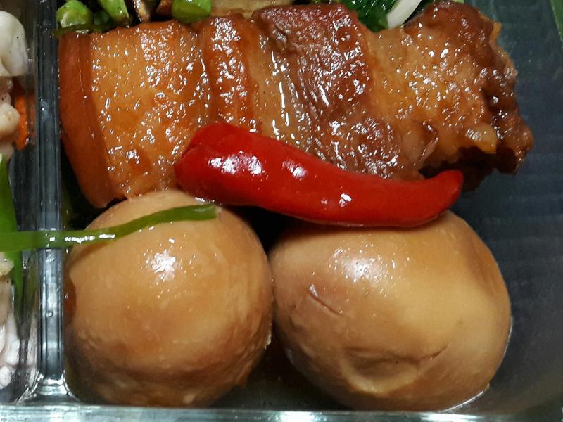 紅蔥頭滷五花肉&蛋(電鍋版)